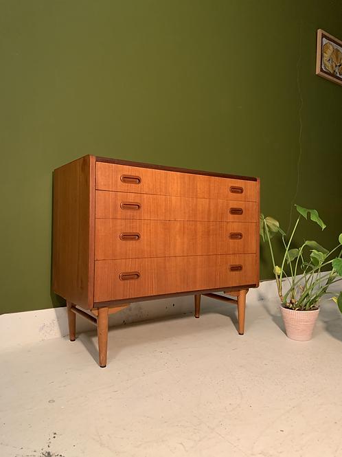 Danish chest of drawers teak