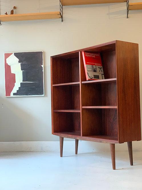 Brouer Rosewood bookcase vintage Deense kast