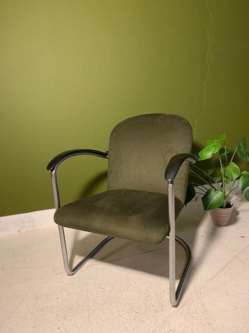 Originele Gispen 414 dames fauteuil