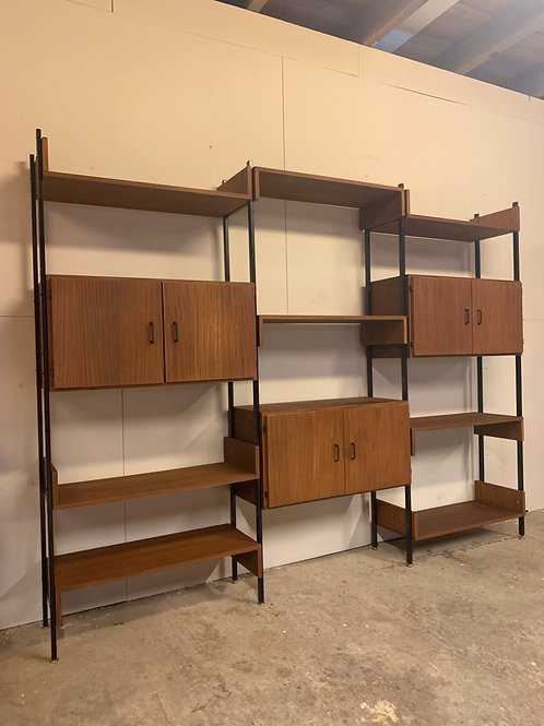 Simpla lux wall unit mid century teak room divider (SOLD)