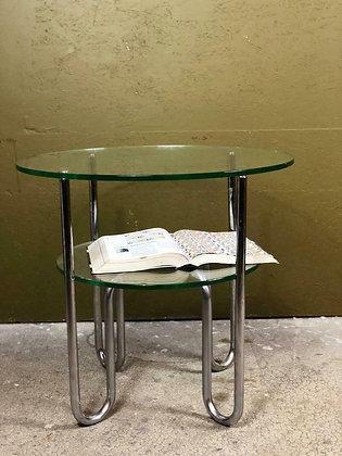 Vintage Gispen glazen salontafel