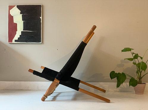 Vintage Saw chair Ole Gjerlov- Knudsen fauteuil