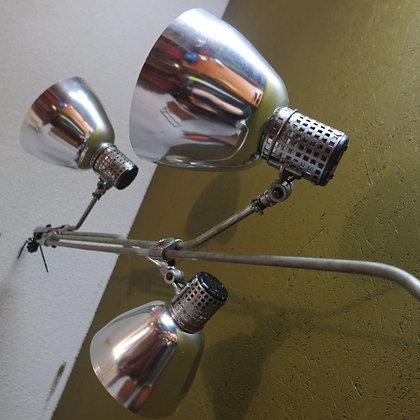 Industriële Franse plafondlampen