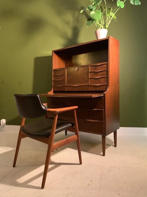 Vintage Deense secretaire/ kast
