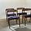 Farstrup vintage eetkamerstoelen Deense stoelen
