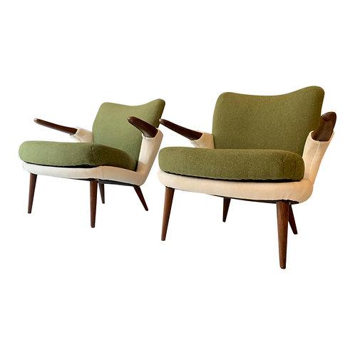 Vintage design koehoorn cowhorn fauteuils