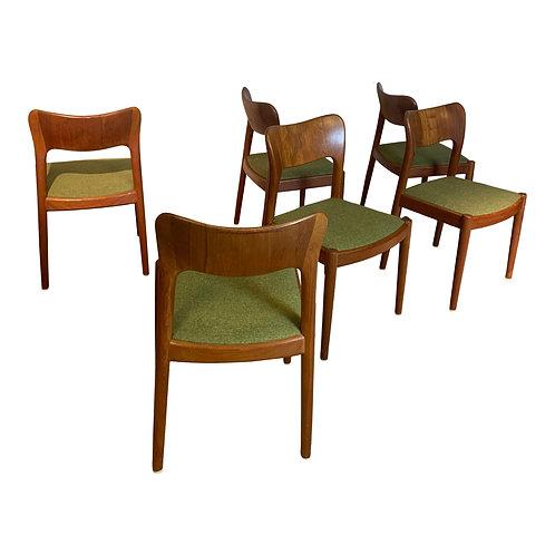 Deense Niels Koefoed Hornslet stoelen