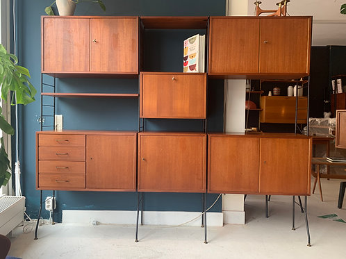 WHB wall unit mid century system