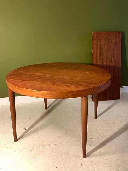 Vintage Kai Kristiansen tafel uitschuifbaar twee tussenbladen