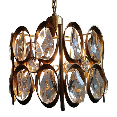 Palwa plafondlamp, hollywood regency, vintage 70's
