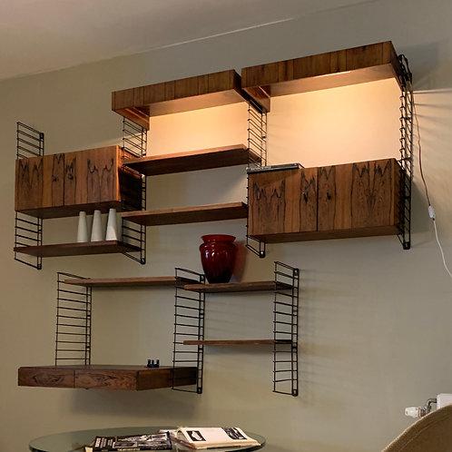 Vintage palissander wandsysteem design wall system (SOLD)