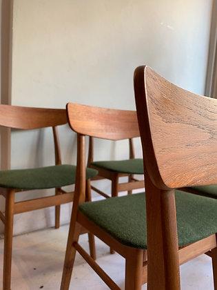 Deense stoelen vintage design Findahls stoel zes