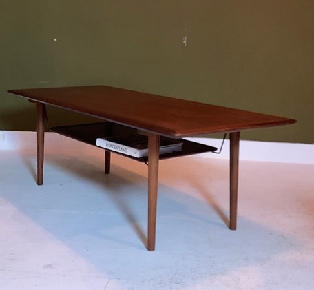 Deense salontafel teak coffee table