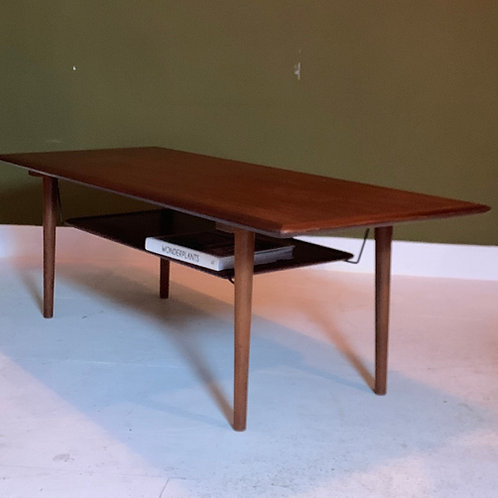 Deense salontafel teak coffee table