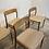 Niels Moller model 75 eiken stoelen