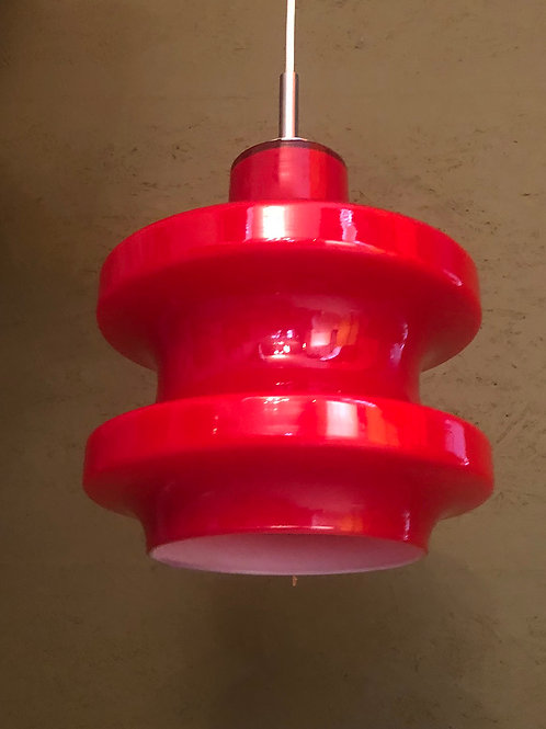 Vintage plafondlamp Peill & Putzler, 60's