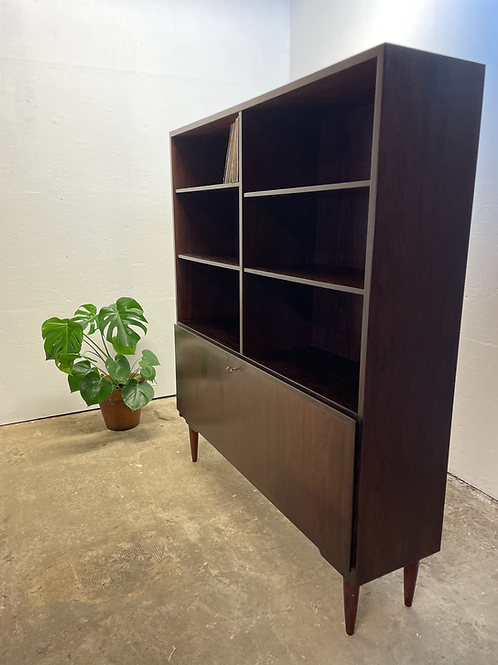 Deense vintage boekenkast, Omann Jun Meubelfabriek, 60's design.