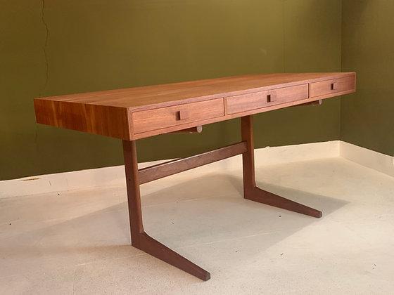 George Petersens desk mid century modern Danish furniture