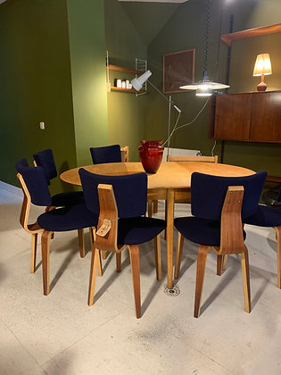 6 Cor Alons dining chairs Dutch Design chairs Plywood