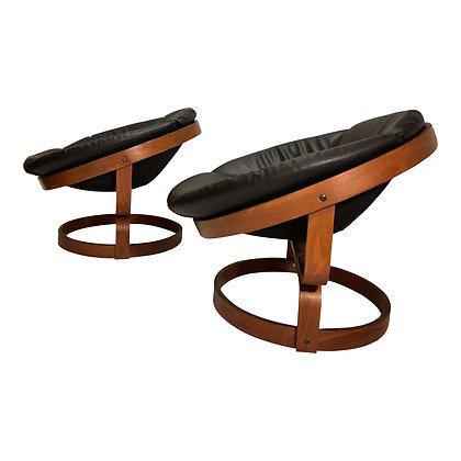 Swivel chair Soda Galvano Scandinavian chairs 70'