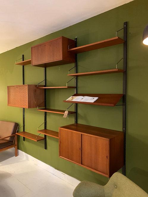 Poul Cadovius Cado wall system Deens vintage wandsysteem