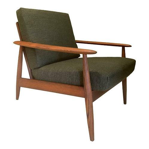 Deense mid century fauteuil