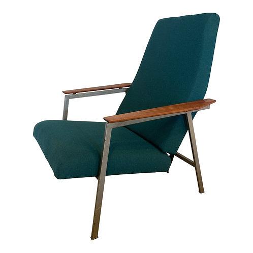 Vintage fauteuil, easy chair uit de jaren 50
