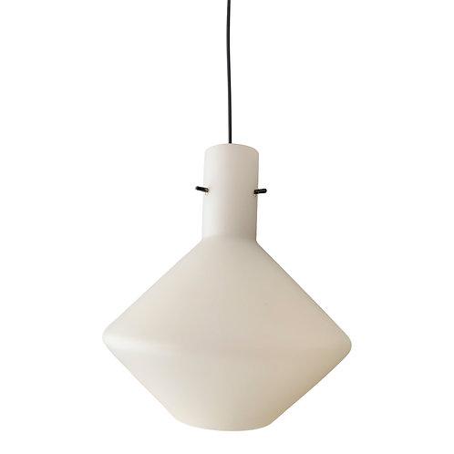 Hanglamp lamp Stilnovo style opaline pendant (SOLD)