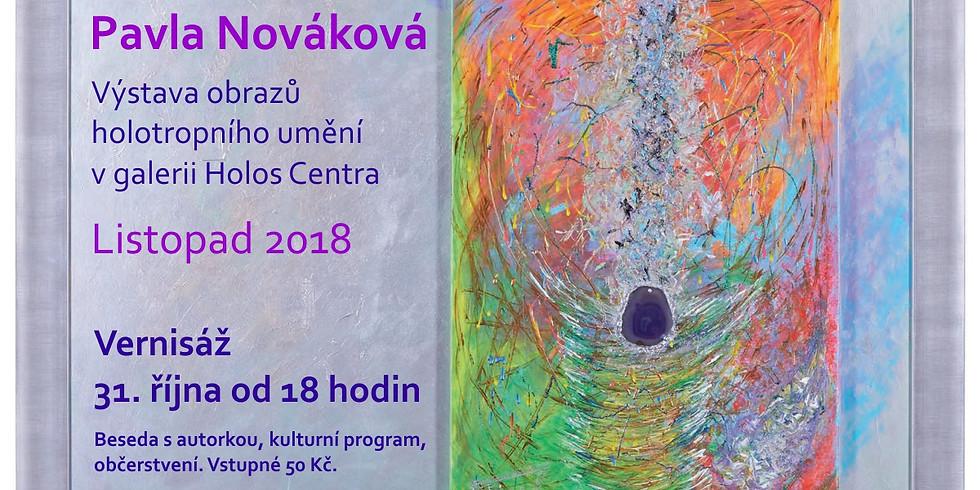 Vernisáž výstavy Pavly Novákové 31.10.2018