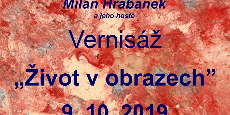 Vernisáž výstavy V. E. Sargy 9.10.2019