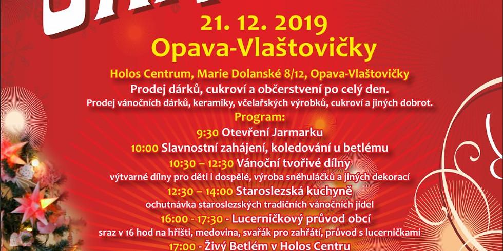 Vánoční jarmark a Vánoční koncert v Holosu 21.12.2019