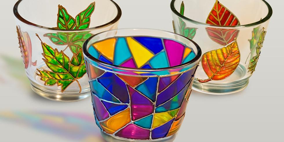 Tvořivá dílna -  Malování na sklo a porcelán, glazování keramických výrobků 23.11.2018