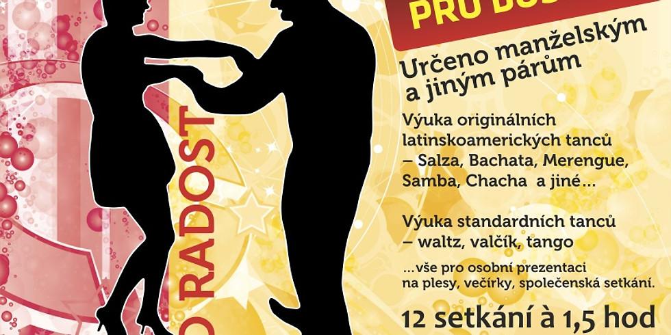 Zahájení kurzu Večerní taneční pro dospělé - 1-3/2020 13.1.