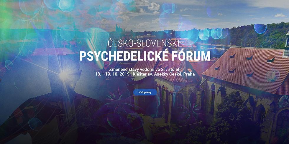 Česko-Slovenské Psychedelické fórum 18.10.2019