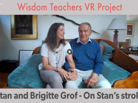 Stanislav a Brigitte Grofovi hovoří o Stanislavově mrtvici