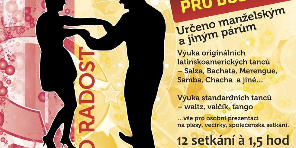 Zahájení kurzu Večerní taneční pro dospělé - 9-12/2019 23.9.