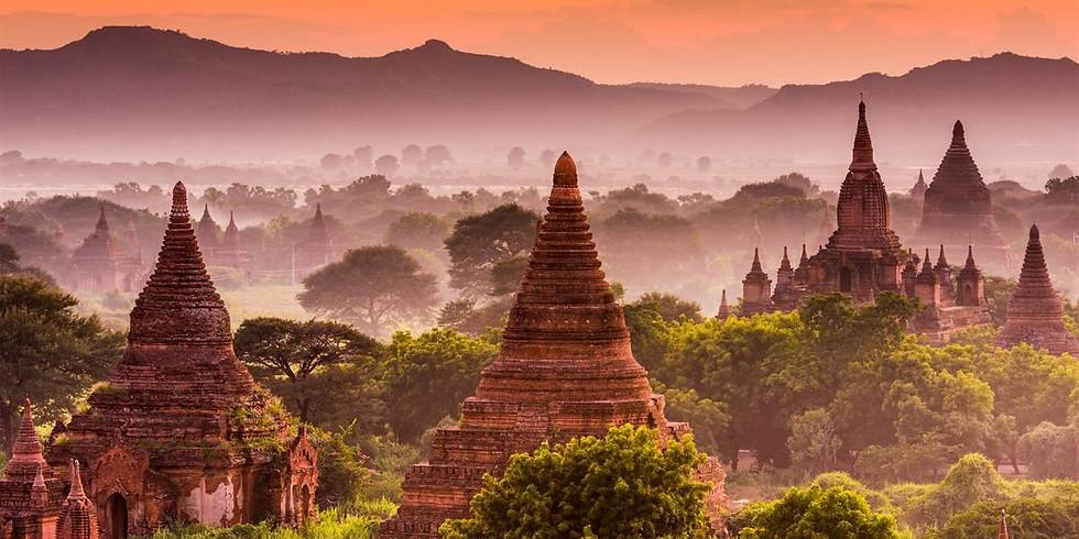 Putování po Barmě 23.1.2019