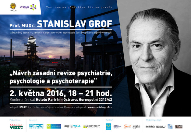 Přednáška Stanislava Grofa v Ostravě