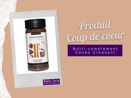 Epicure: Nutri-complément Cacao Croquant
