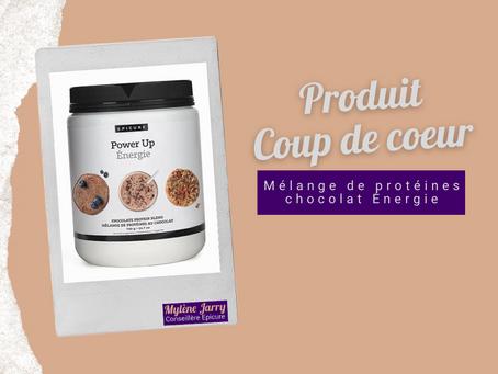 Epicure: Mélange de protéines chocolat Énergie