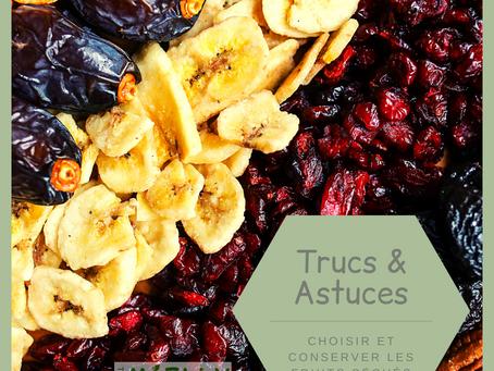 Choisir et conserver les fruits séchés