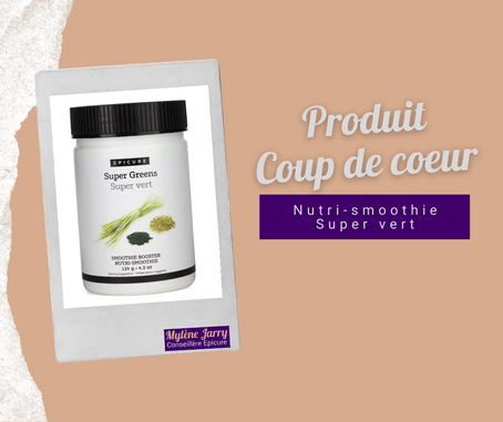 Epicure: Nutri-smoothie Super vert