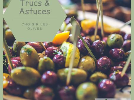 Choisir les olives