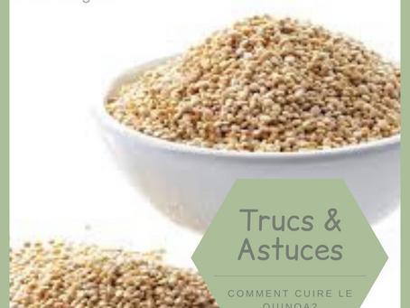 Comment bien cuire le quinoa?