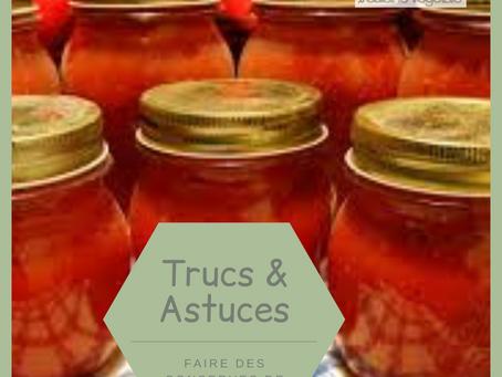 Comment faire des conserves de tomates maison?