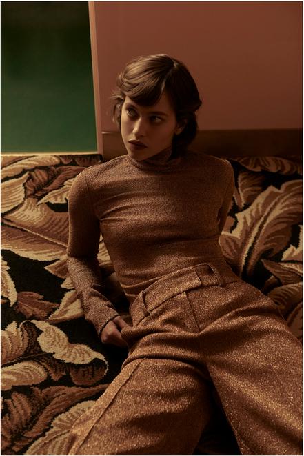 Melanie et Ramon - Lou Delaage- Flaunt magazine - Storny Misericordia