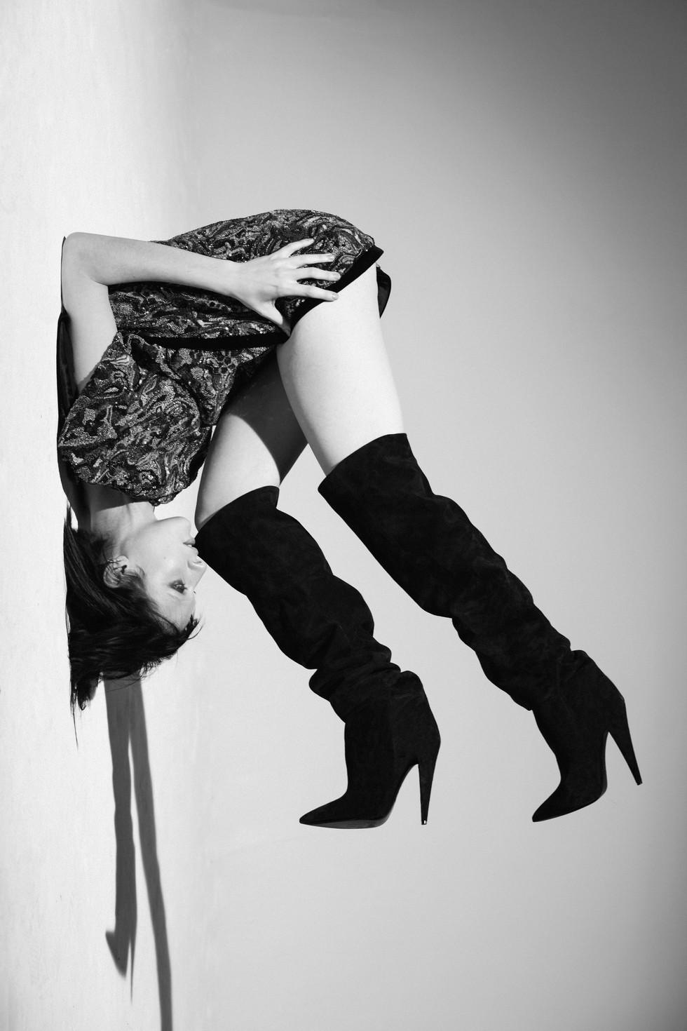 Stephanie Pfaender - Mixte Magazine- Yves Saint Laurent - Hugo Villard - Yoanne Fernandez - Storny Misericordia