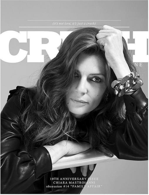Chiara Mastroianni - Nicolas Wagner - Yves Saint Laurent - Crush fanzine - Storny Misericordia