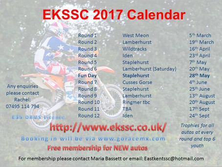 EKSSC Social Evening Tomorrow