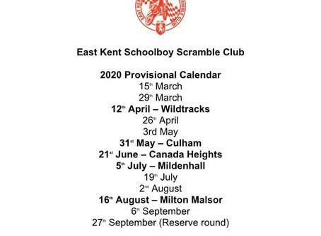 Provisional Dates